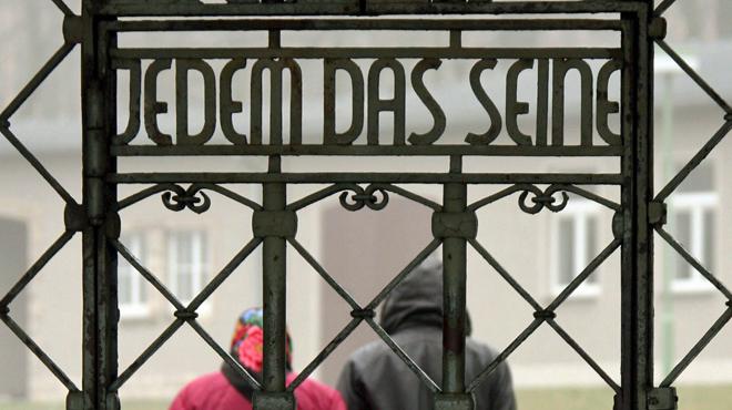 Scandale en Allemagne: des demandeurs d'asile logés dans un bâtiment du camp de concentration de Buchenwald