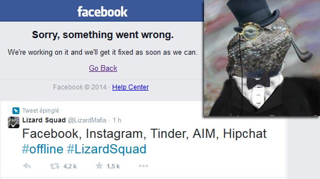 Facebook et Instagram en panne ce matin: des hackers revendiquent l'attaque, Facebook dément