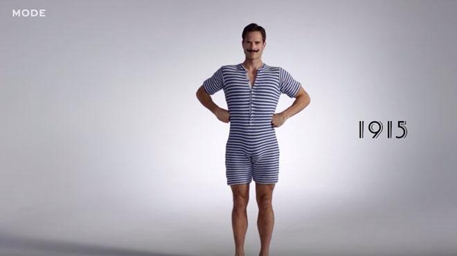 D couvrez l volution des maillots de bain pour hommes sur - Maillot de bain des annees 30 ...