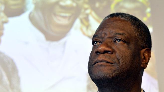 Le dr denis mukwege l 39 ulb plus de 800 personnes pr sentes la d fense de th se de l 39 homme - Personne qui repare les cheminees ...