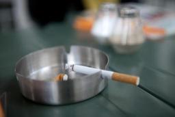 Interdiction de fumer dans un restaurant