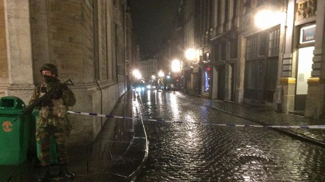 Opération en cours à Bruxelles: à la demande de la police, nous ne livrons plus d'informations sur celle-ci
