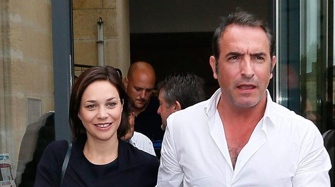 Jean dujardin et nathalie p chalat sont parents d 39 une for Pere de jean dujardin