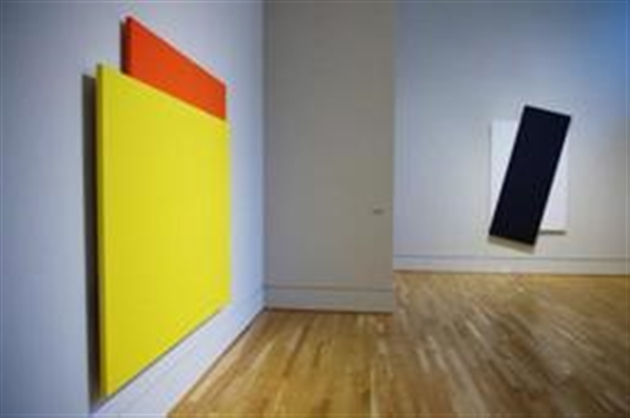 D c s de l 39 artiste am ricain ellsworth kelly peintre for Galerie art minimaliste