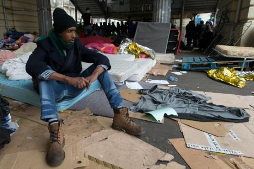 Un camp de migrants évacué dans le 19e arrondissement — Paris