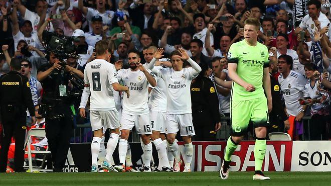 Ligue des champions- le Real Madrid écarte un Manchester City décevant et s'offre sa 14e finale (vidéos) 1