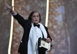 Cannes 2016 - Palme d'Or d'honneur et longue ovation pour Jean-Pierre Léaud à Cannes