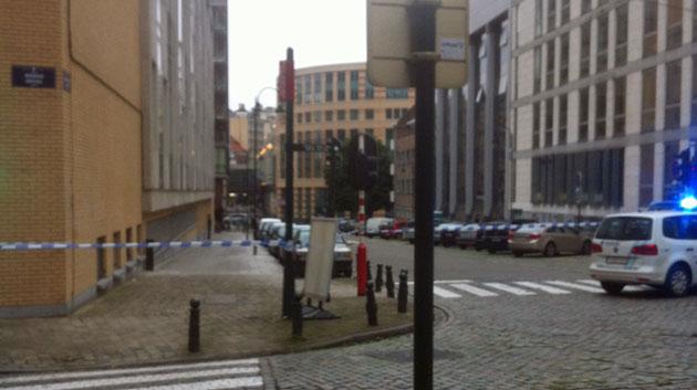 Alerte à la bombe à Bruxelles: un homme arrêté