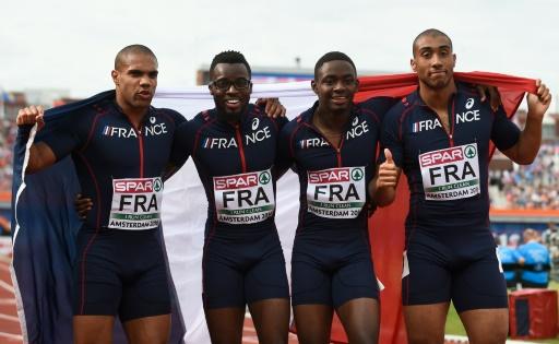 4x100 m messieurs: la Grande-Bretagne domine la France de Vicaut