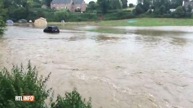 Coulées de boues et inondations- le plan rouge majeur déclenché dans l'est du Brabant wallon (vidéos) 1
