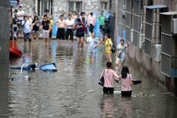 Chine: près de 300 morts et disparus dans les inondations, un demi-million de déplacés