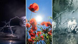 Prévisions météo: soleil, pluie, orage, tout peut arriver ce week-end!