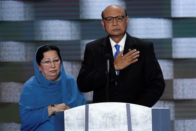 Trump réfute les propos du père d'un soldat mort en Irak