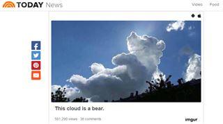 Quel personnage de dessin animé voyez-vous dans ce nuage ? 4