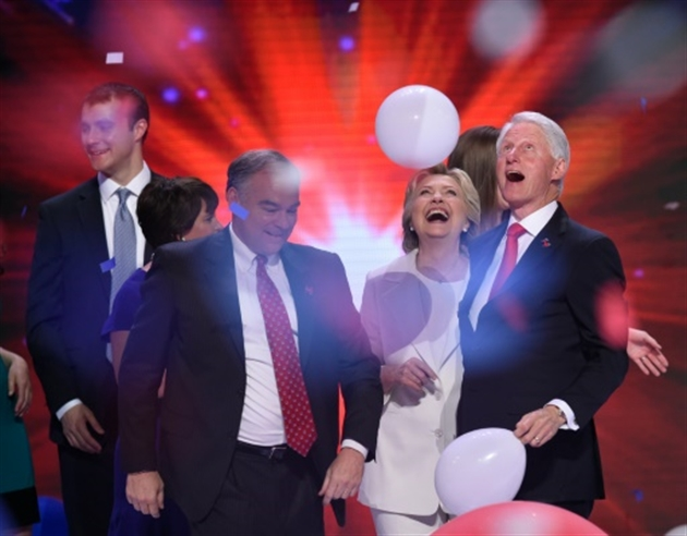 Hillary Clinton à l'exact opposé de Donald Trump