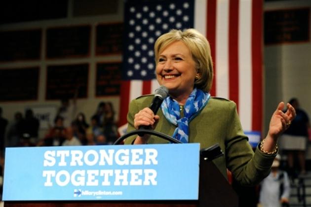 Présidentielle américaine- Philippe Mouche François D'ASTIERHillary Clinton en meeting à Commerce City le 3 août 2016- Jason Connolly