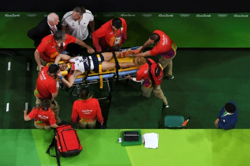 JO : L'horrible blessure d'un gymnaste français