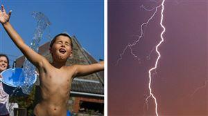 Prévisions météo: jusqu'à 34 degrés ce samedi, mais attention aux orages violents