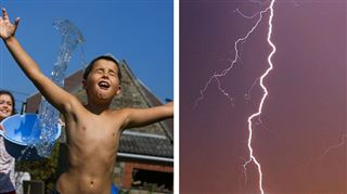 Prévisions météo- jusqu'à 34 degrés ce samedi, mais attention aux orages violents 4