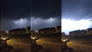 """Des orages éclatent en province de Liège et de Luxembourg: """"Ça gronde!"""" (photos)"""
