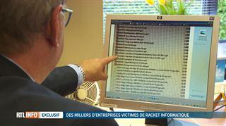 Exclu RTL- des milliers d'entreprises belges victimes de chantage informatique 3