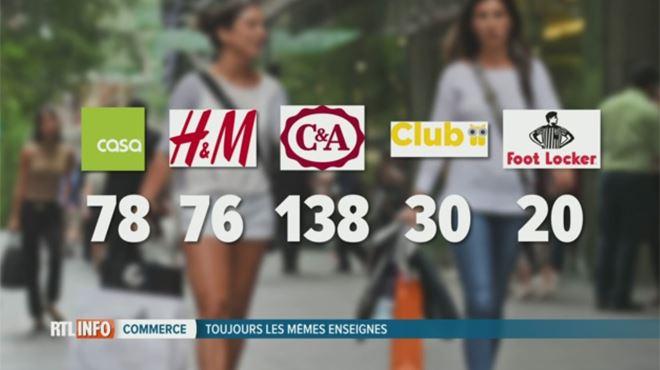 78 magasins Casa, 76 H&M, 138 C&A... Pourquoi ces grandes marques sont-elles omniprésentes en Belgique? 1