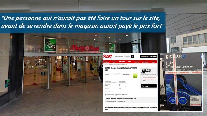 Sébastien observe des prix TRÈS différents chez Media Markt entre le site web et un magasin: voici l'explication d'un responsable