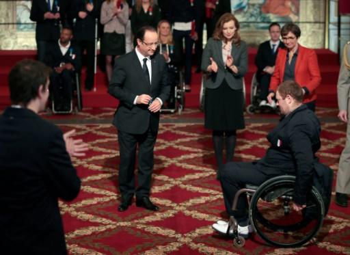 Lamirault en or — Paralympiques