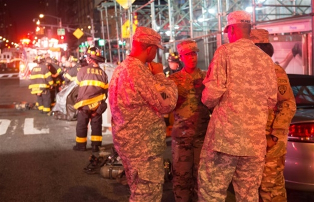 Le suspect des attaques à Manhattan et dans le New Jersey arrêté