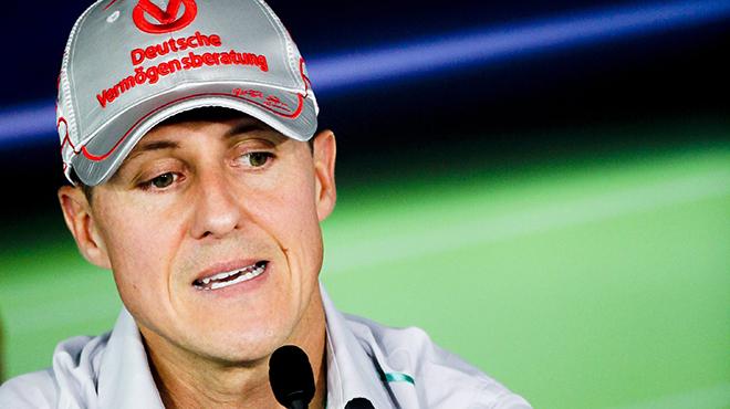 F1 - Schumacher ne peut pas marcher