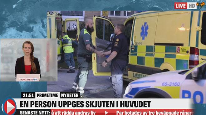 Des hommes tirent sur la foule à Malmö en Suède plusieurs victimes