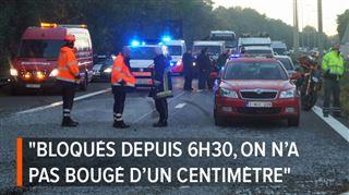 Enfer sur la A54 Charleroi-Nivelles, totalement fermée vers Bruxelles- réouverture vers 20h, les véhicules coincés font enfin demi-tour (vidéo) 4