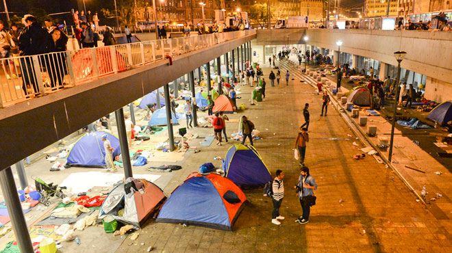 Attentats de Paris- Salah Abdeslam serait venu chercher son commando, arrivé de Syrie au milieu des migrants, à Budapest 1