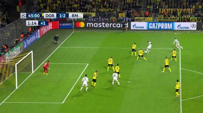 Le Real tenu en échec à Dortmund (2-2) — Ligue des champions