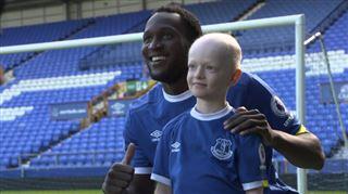 Romelu Lukaku offre à cet enfant atteint d'un cancer le plus beau jour de sa vie (vidéo) 2