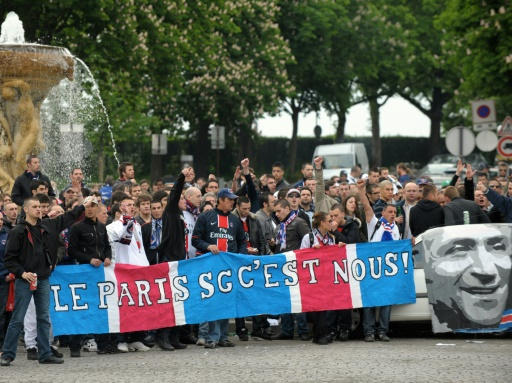 150 ultras au Parc face à Bordeaux — PSG