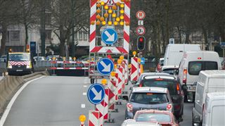 La situation reste très compliquée à Bruxelles, mais ça s'améliore- le tunnel Loi partiellement rouvert 2
