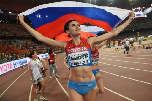 La Russe Anna Chicherova disqualifiée — Athlétisme