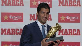 Luis Suarez a reçu le Soulier d'Or européen- Je ne m'imaginais pas en buteur 3