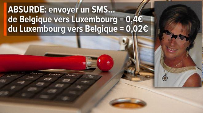 La maman de Sébastien explose son abonnement Proximus à cause de SMS envoyés vers le Luxembourg- Pour moi, c'est une arnaque 1