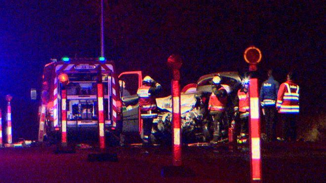 Une collision frontale a fait un mort sur la E19 à Obourg- la victime est un pompier de Wavre 1