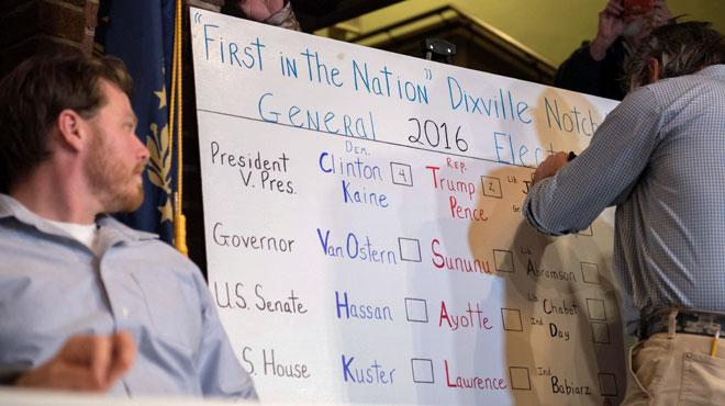 Présidentielle américaine : les Américains votent pour départager Hillary Clinton et Donald Trump