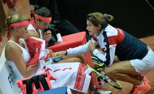 Les tenniswomen françaises s'inclinent en finale face aux Tchèques — Fed Cup