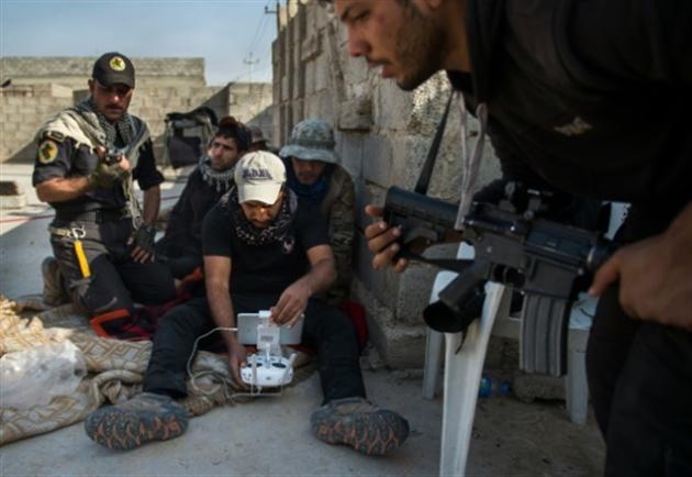 Les forces d'élite progressent dans les rues de Mossoul — Irak