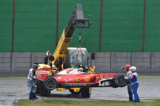 GP du Brésil: drapeau rouge au 28e tour