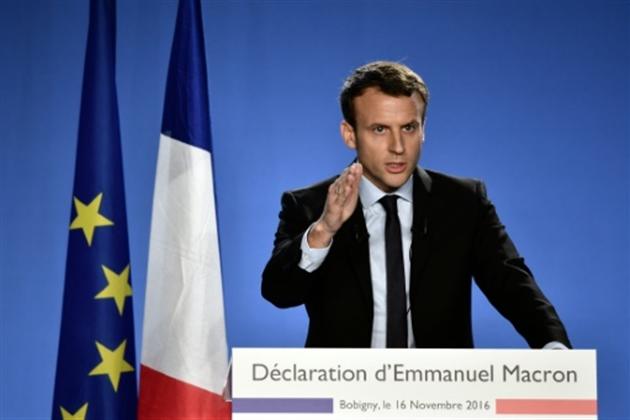 Emmanuel Macron annonce sa candidature à l'élection présidentielle — France