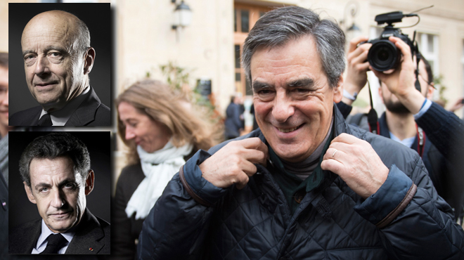 Primaire à droite: Fillon serait largement en tête devant Juppé puis Sarkozy
