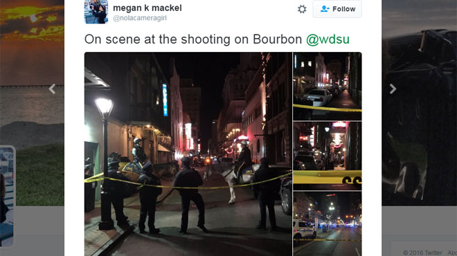 Une fusillade à La Nouvelle-Orléans fait 1 mort et 9 blessés