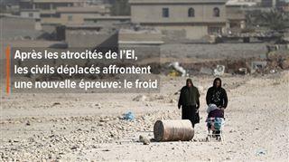 Exilée de Mossoul, Bouchra a peur que le froid tue ses filles de 8, 10 et 13 ans- On gèle la nuit, mes filles sont tombées malades