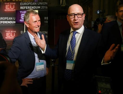 Grande-Bretagne: Paul Nuttall élu à la tête du parti Ukip